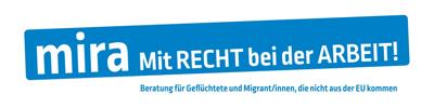 mira | Mit RECHT bei der ARBEIT! Logo